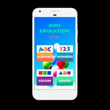 Kids Learn - Alphabet , Numbers , Colors , Shapes screenshot 3