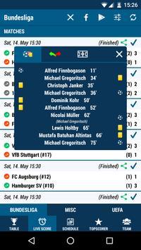 Football DE (The German 1st league) screenshot 1