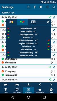 Football DE (The German 1st league) screenshot 2