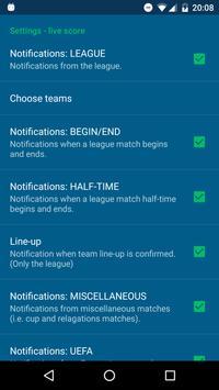 Live Score - Football Turkey screenshot 4
