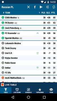 Russian Premier League poster