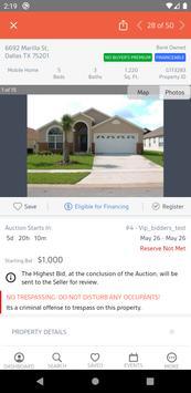 Xome Auctions imagem de tela 3