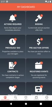 Xome Auctions imagem de tela 1