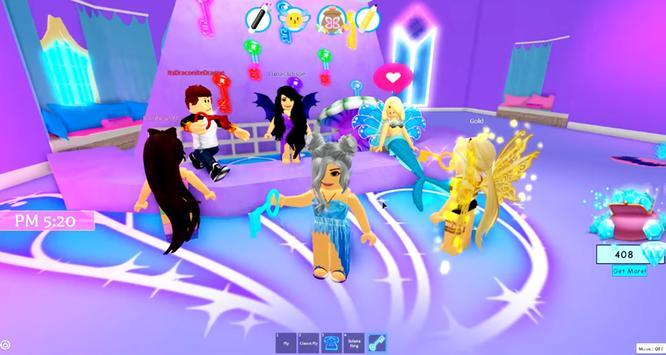Royale High School Fashion Frenzy Girls Obby Guide screenshot 6
