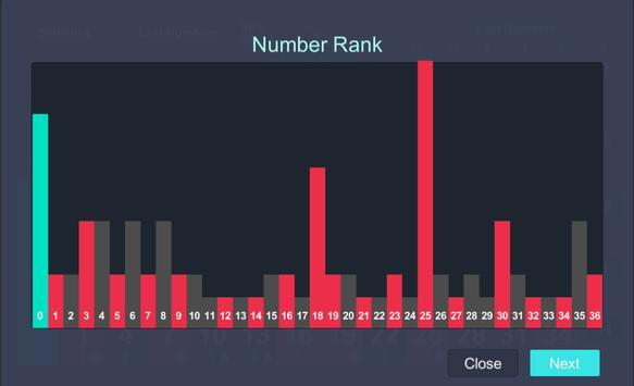 Roulette Statistics screenshot 13
