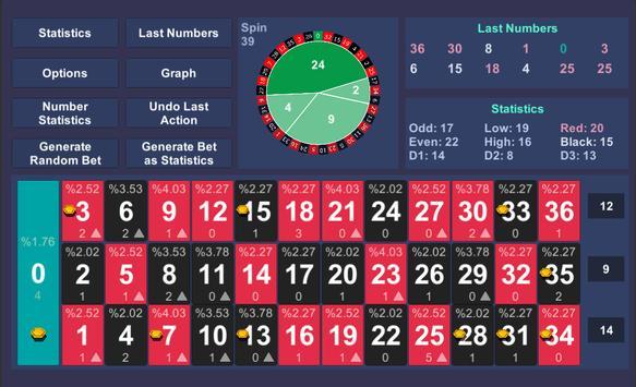 Roulette Statistics screenshot 8