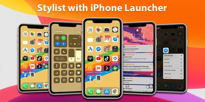 Launcher iPhone 海报