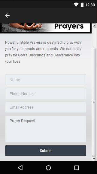 Powerful Bible Prayers for Android - APK Download