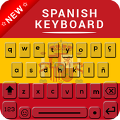 Spanish Keyboard, Teclado en español icon