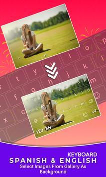 Spanish Keyboard, Teclado en español screenshot 3