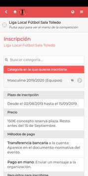 Liga Fútbol Sala Toledo poster