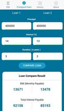 Emi Calculator & Loan Calculator screenshot 5