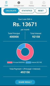 Emi Calculator & Loan Calculator screenshot 2