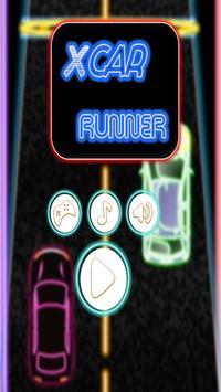 X Car Runner - Racer Game poster