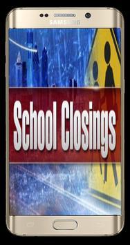 School Closings poster