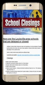 School Closings screenshot 1