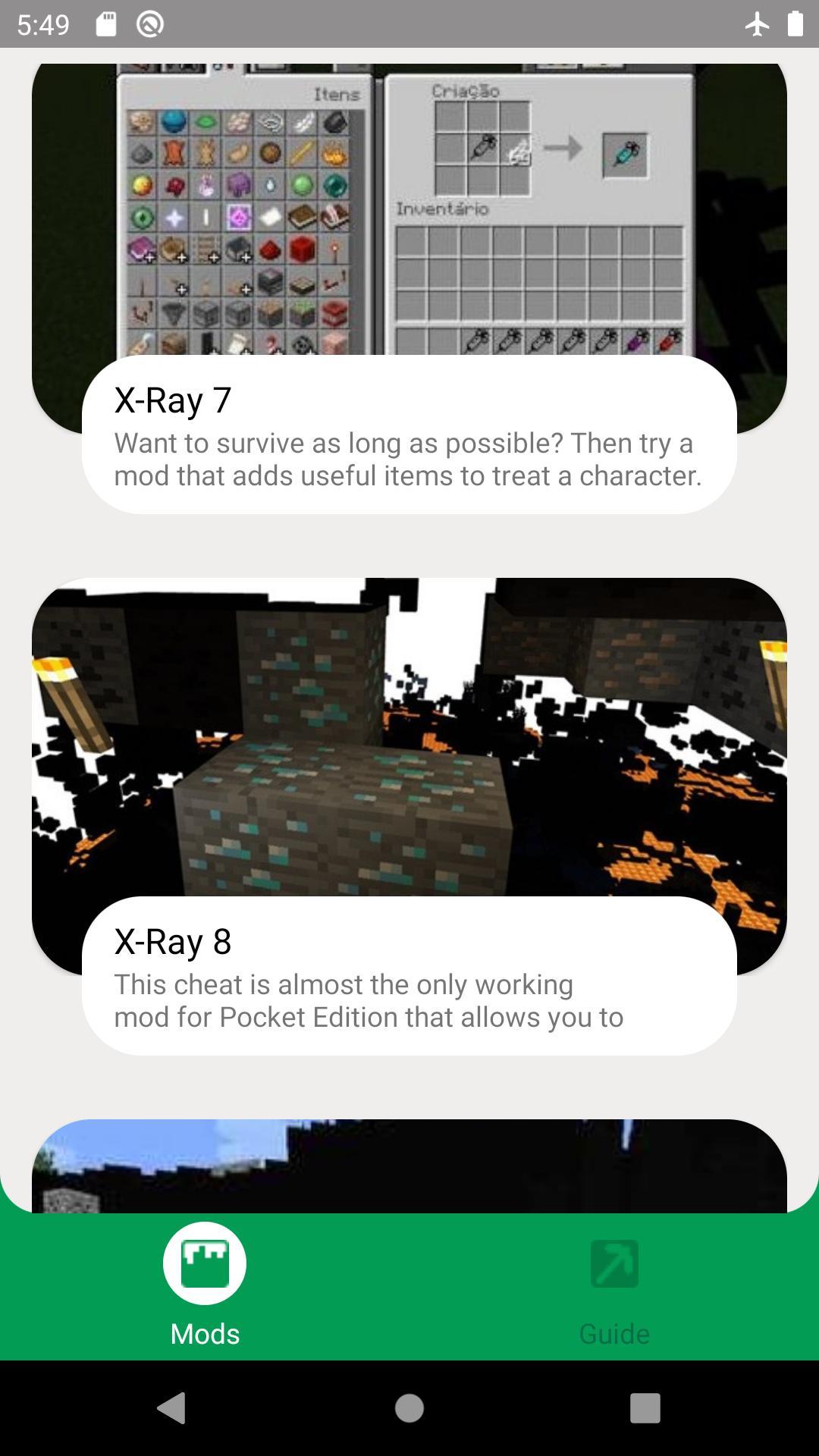 Xray Mods for Minecraft PE para Android - APK Baixar