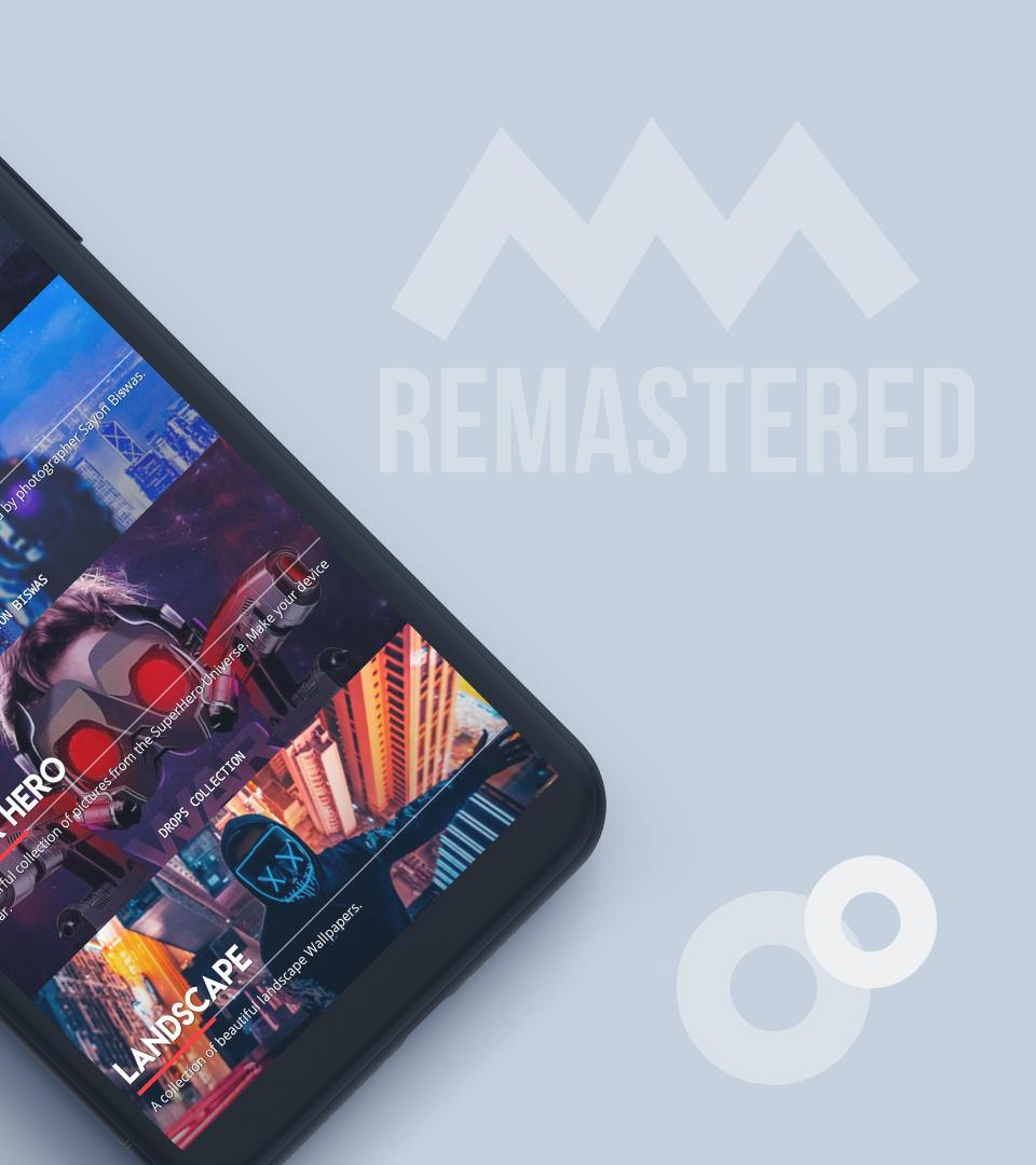 Drops Remastered - Premium Wallpapers Collection for Android