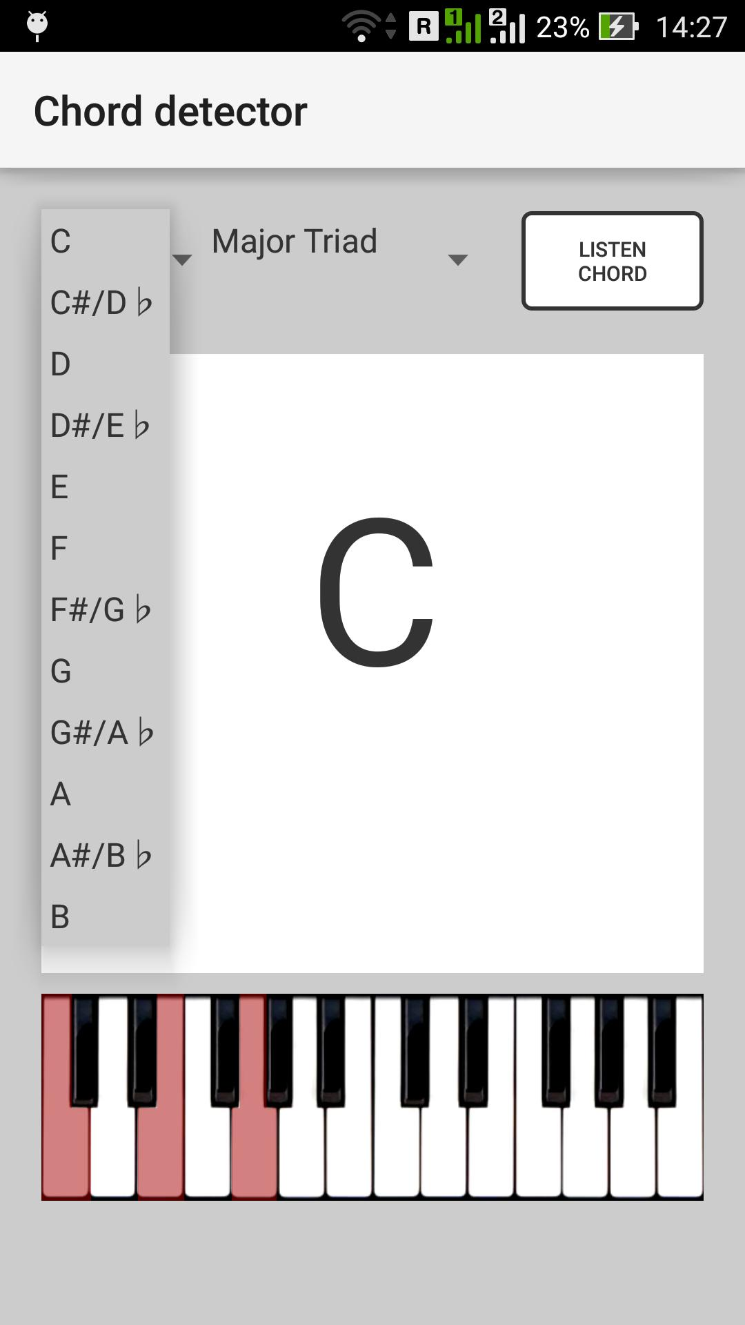 Chord detector for Android - APK Download