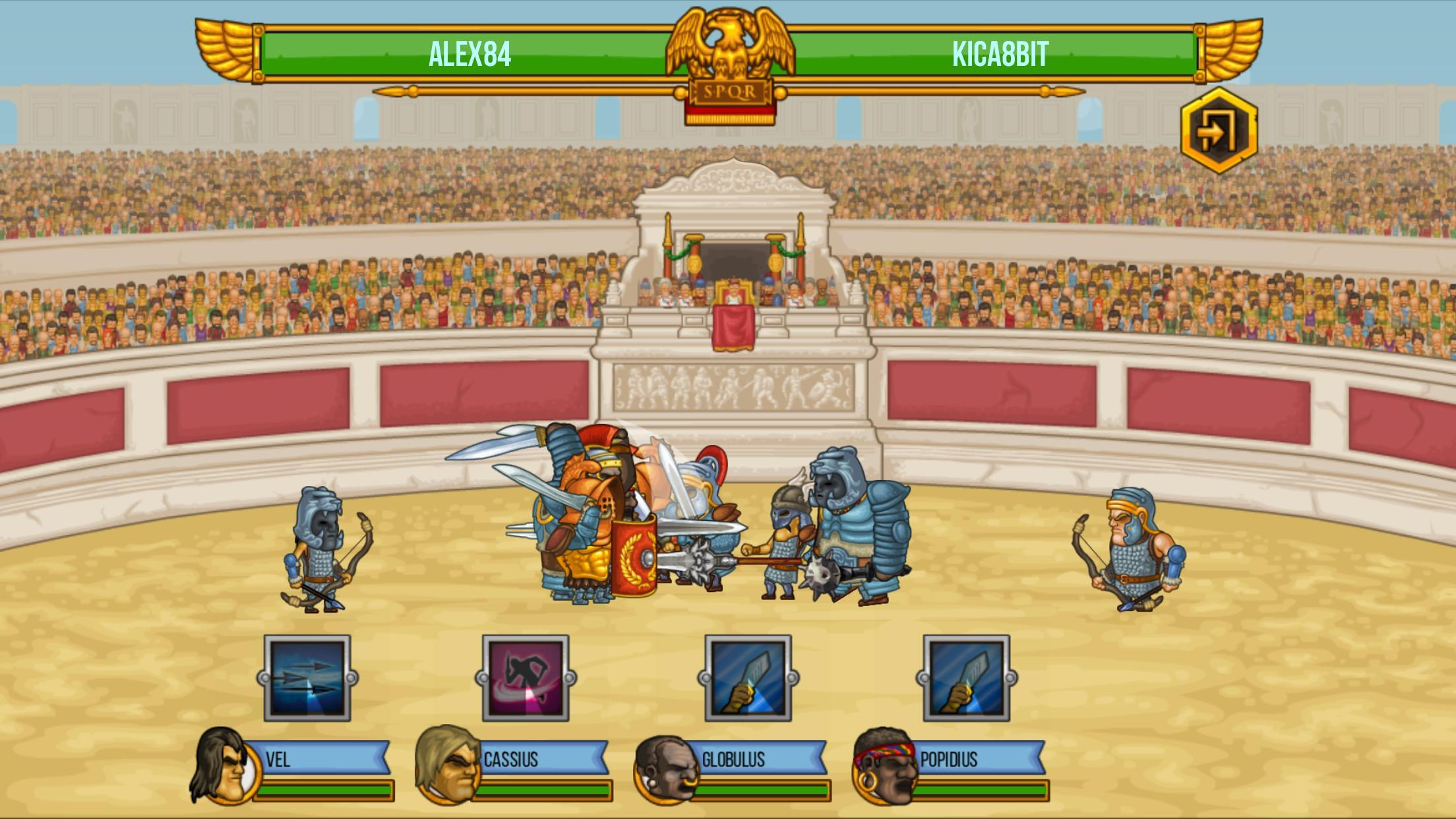 Gods of Arena: Online Battles para Android - APK Baixar