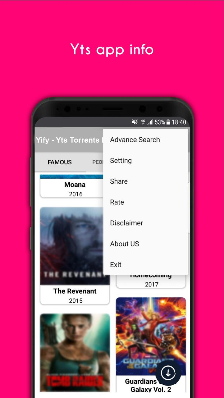 Yts Movies Torrent for Android - APK Download