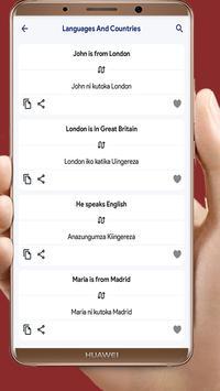 Learn To Speak Swahili screenshot 2