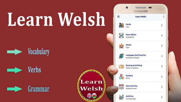 Welsh Learning Apps poster