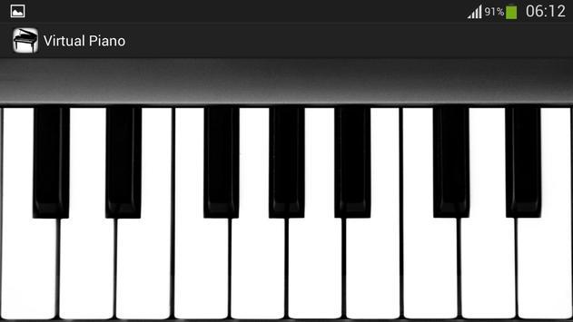 バーチャルピアノ スクリーンショット 1