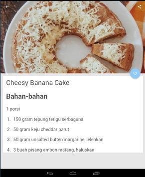 Resep Kue Bolu Pisang Terbaru screenshot 2