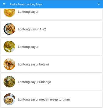 Resep Lontong Sayur Terbaru screenshot 5