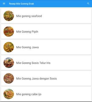 Resep Mie Goreng Sederhana lengkap screenshot 3