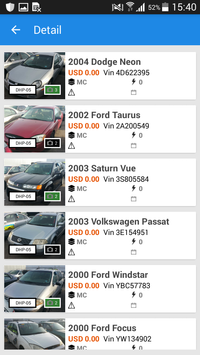 DriveHere.com Inventory screenshot 2