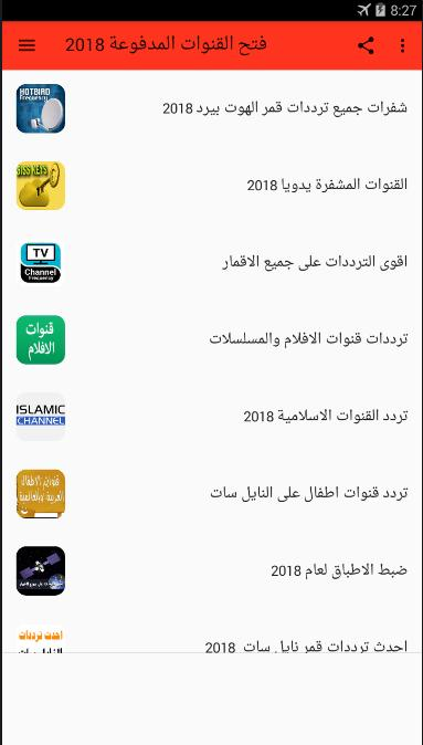 TV Channel Frequencies - Hotbird Nilesat Channels for