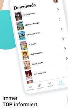 12 Schermata YUMPU Kiosk: Magazine, Zeitungen und Zeitschriften