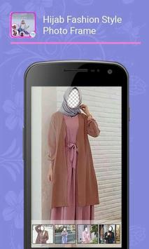 Hijab Fashion Style Photo Frame screenshot 3