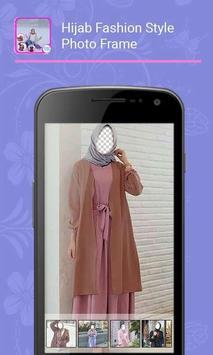 Hijab Fashion Style Photo Frame poster