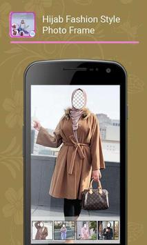 Hijab Fashion Style Photo Frame screenshot 1