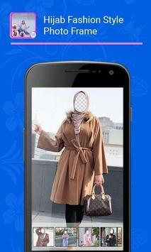 Hijab Fashion Style Photo Frame screenshot 2