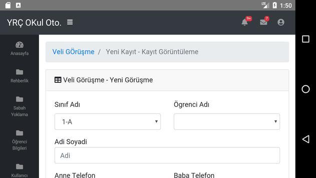 Yedi Renkli Çınar Okulları screenshot 5