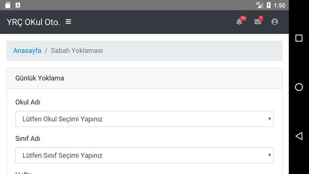 Yedi Renkli Çınar Okulları screenshot 3