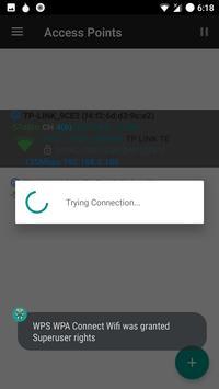 WPS WPA Connect Wifi screenshot 2
