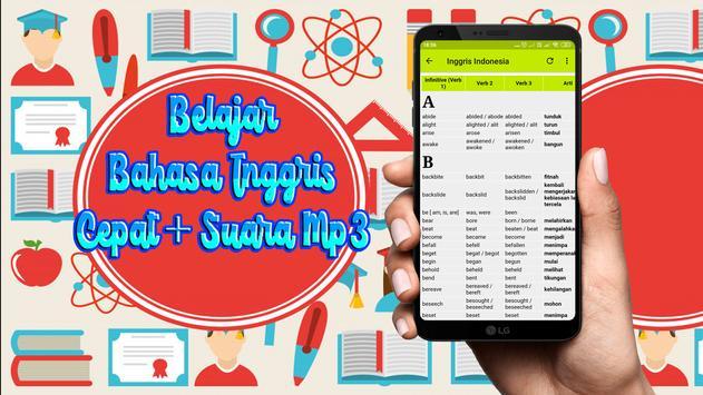 Belajar Bahasa Inggris Cepat + Suara Mp3 screenshot 2