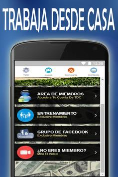 Sistema TDC App screenshot 1