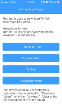 Tik Tok Download screenshot 1
