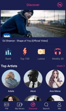 Free Music capture d'écran 1
