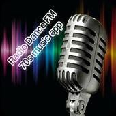 Radio Dance FM 70s music app icon