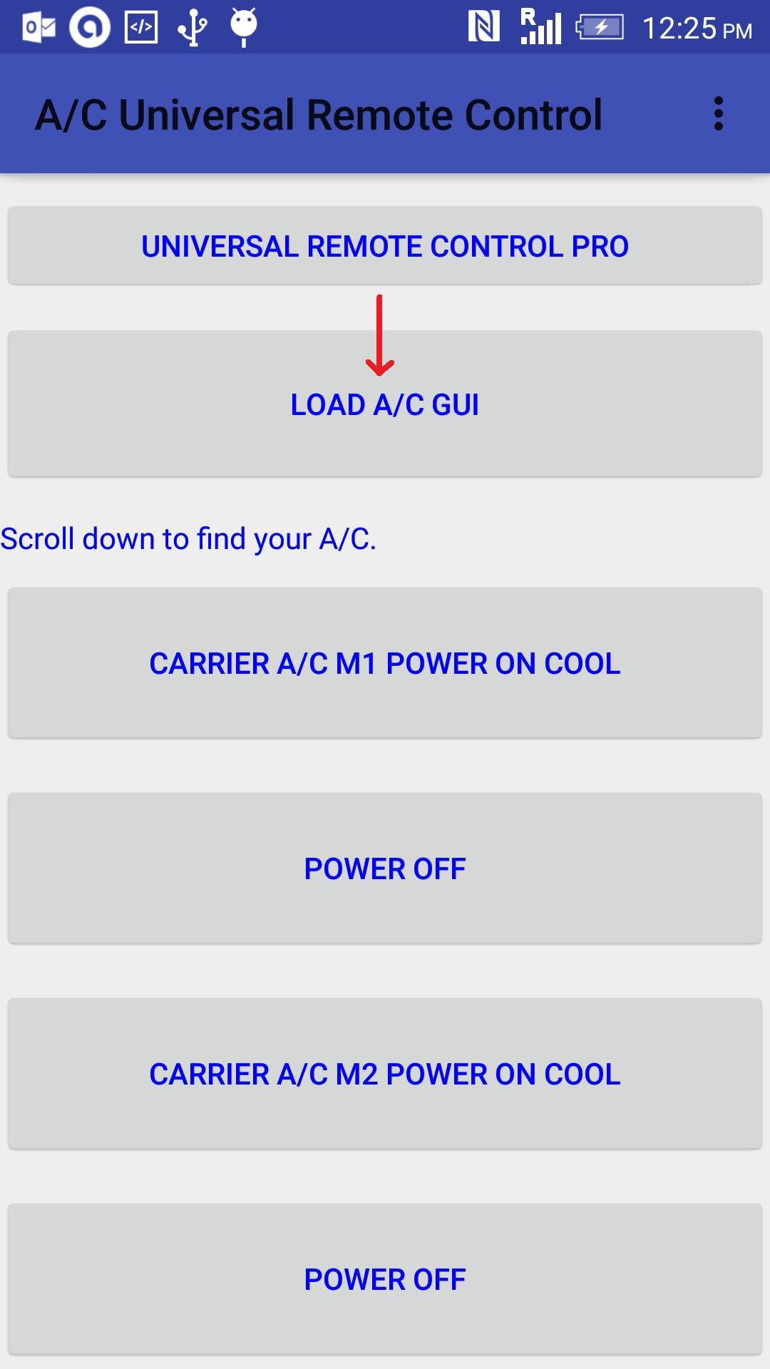 A/C Universal Remote Control for Android - APK Download