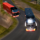 Real Bus Uphill Climb Simulator - Hill Station icon