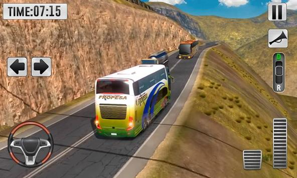Real Bus Uphill Climb Simulator - Hill Station screenshot 1