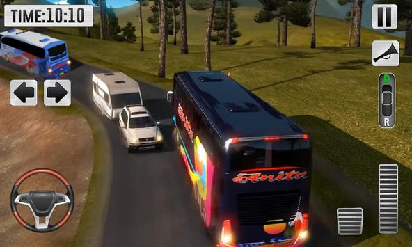 Real Bus Uphill Climb Simulator - Hill Station screenshot 2